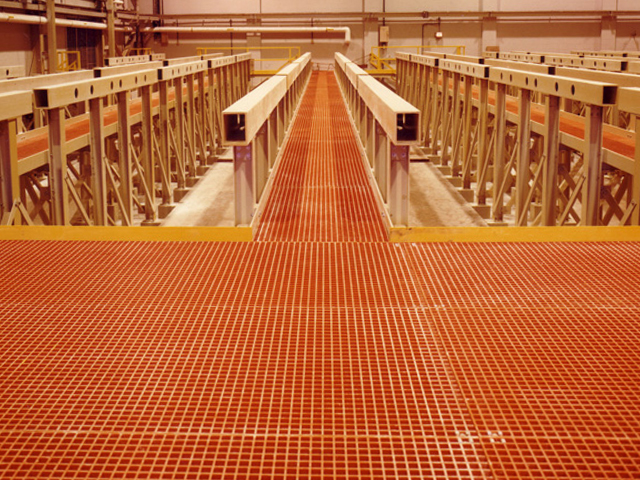 Fiberglass Structural Shapes and Molded Grating